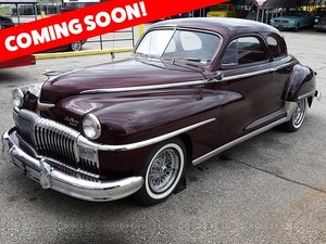 1948 DeSoto Coupe = clean Burgundy driver $obo For Sale