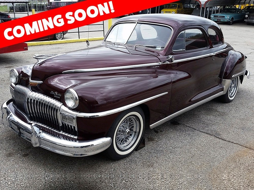 1948 DeSoto Coupe = clean Burgundy driver $obo For Sale (picture 2 of 2)