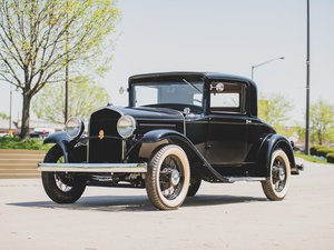 1931 DeSoto Model SA Coupe  For Sale by Auction