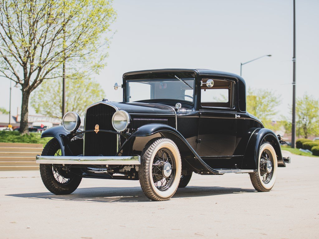 1931 DeSoto Model SA Standard Coupe  For Sale by Auction (picture 1 of 6)
