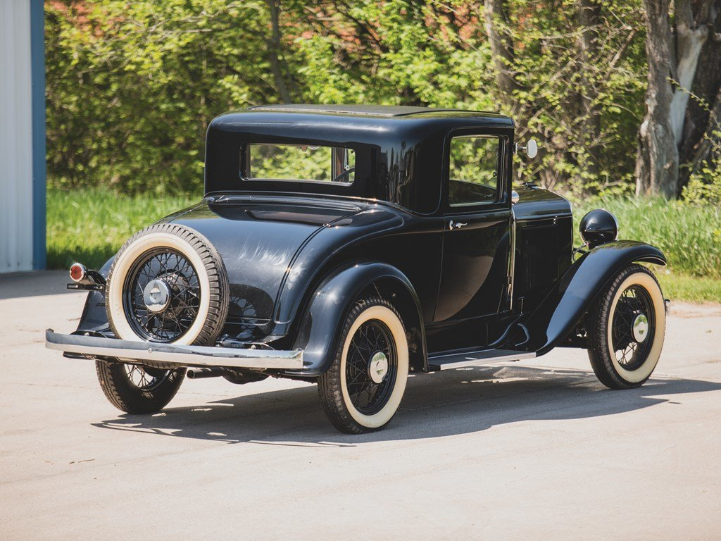 1931 DeSoto Model SA Standard Coupe  For Sale by Auction (picture 2 of 6)
