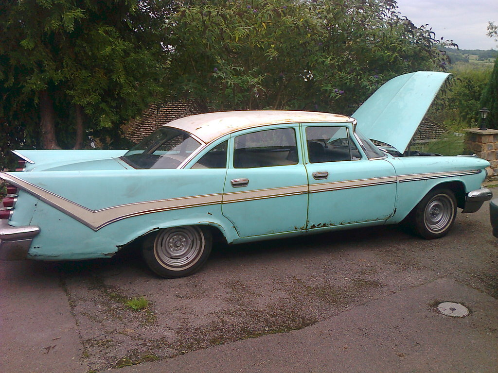 1959 DeSoto Firesweep Unfinished Project. For Sale (picture 2 of 6)