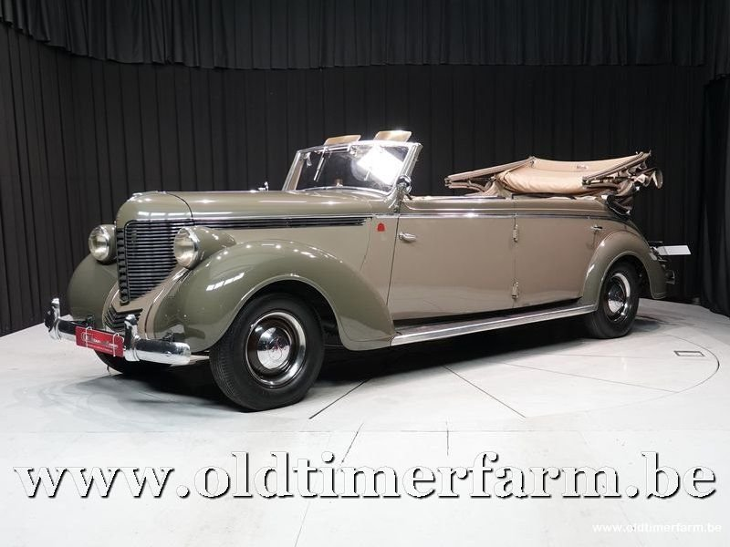 1937 Desoto Tusscher S5 Cabriolet '37 For Sale (picture 1 of 6)