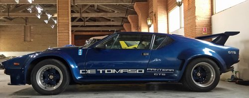 DE TOMASO GT5 1978 SOLD by Auction (picture 1 of 1)