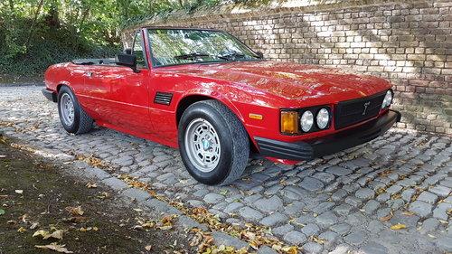 De Tomaso Longchamp Spyder (1983) For Sale (picture 1 of 6)