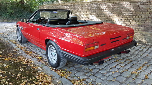 De Tomaso Longchamp Spyder (1983) For Sale (picture 3 of 6)