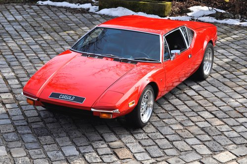 1972 DeTomaso Pantera, engine just 4000 mls! For Sale (picture 1 of 6)