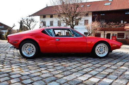 1972 DeTomaso Pantera, engine just 4000 mls! For Sale (picture 2 of 6)