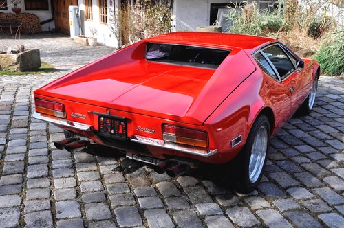 1972 DeTomaso Pantera, engine just 4000 mls! For Sale (picture 3 of 6)