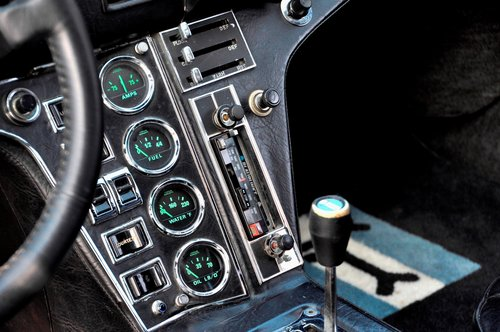 1972 DeTomaso Pantera, engine just 4000 mls! For Sale (picture 5 of 6)