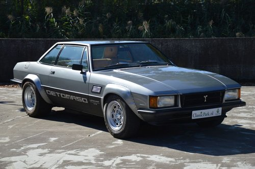 (987) DeTomaso Longchamp - 1978 For Sale (picture 2 of 6)