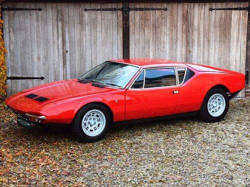 1972 De Tomaso Pantera in pristine condition (LHD) For Sale (picture 1 of 6)