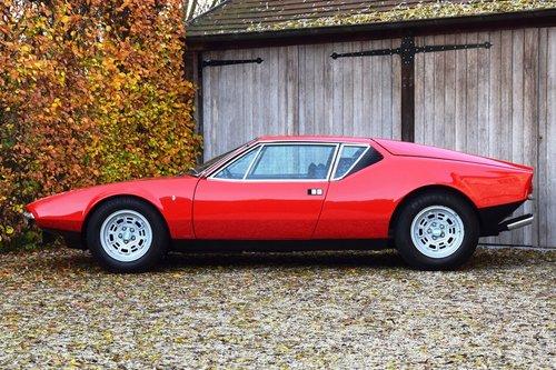 1972 De Tomaso Pantera in pristine condition (LHD) For Sale (picture 2 of 6)