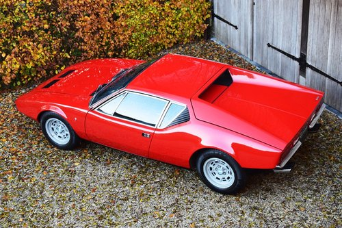 1972 De Tomaso Pantera in pristine condition (LHD) For Sale (picture 3 of 6)