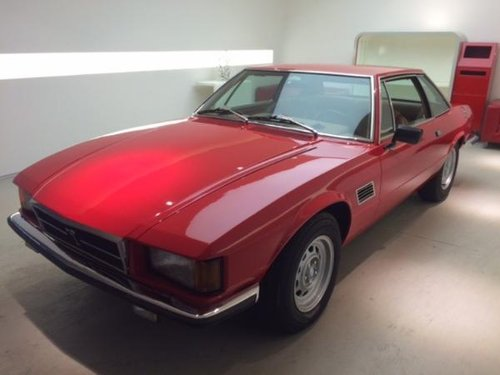1978 DE TOMASO LONGCHAMP COUPÉ V8 5.7 300CH For Sale (picture 1 of 6)