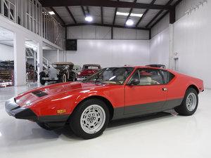 Carroll Shelby's 1983 DeTomaso Pantera GTS