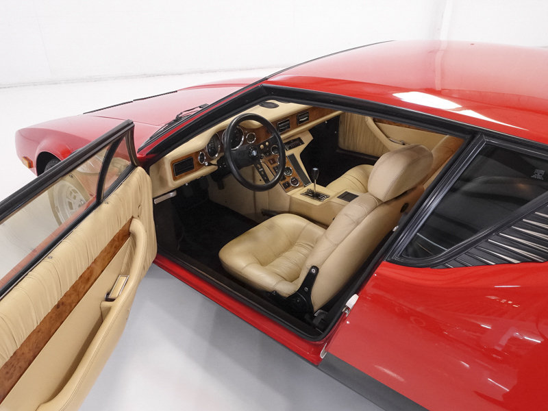 Carroll Shelby's 1983 DeTomaso Pantera GTS For Sale (picture 3 of 6)