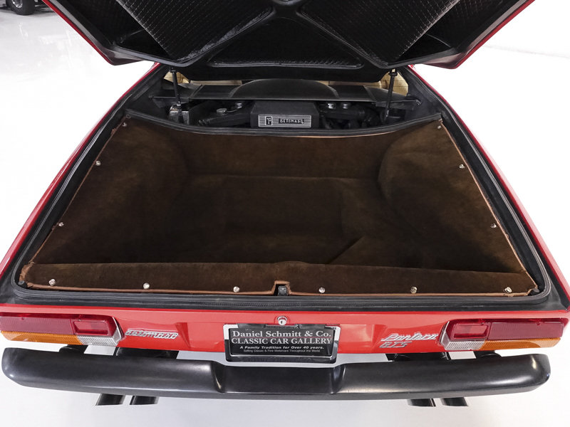 Carroll Shelby's 1983 DeTomaso Pantera GTS For Sale (picture 4 of 6)