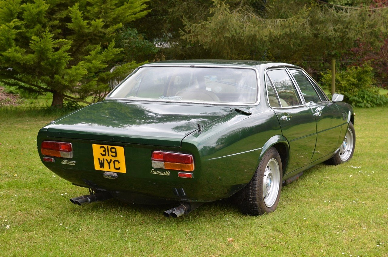 1978 DeTomaso Deauville late series 1 - RHD For Sale (picture 4 of 6)