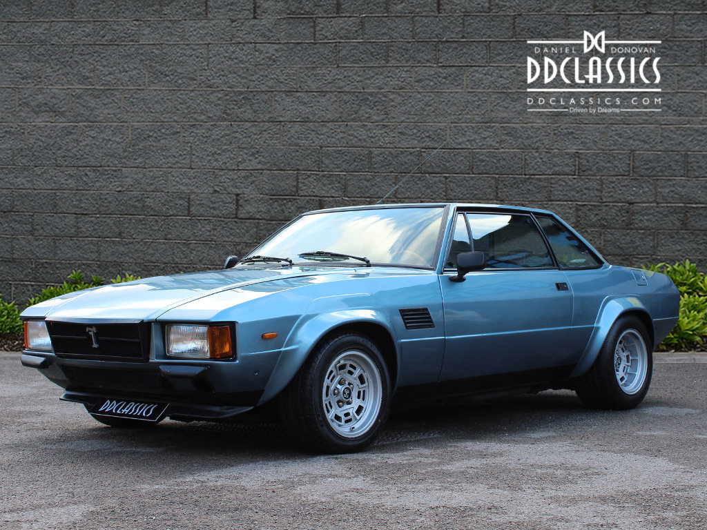 1974 De Tomaso Longchamp GTS Coupe For Sale in London (LHD) For Sale (picture 1 of 6)