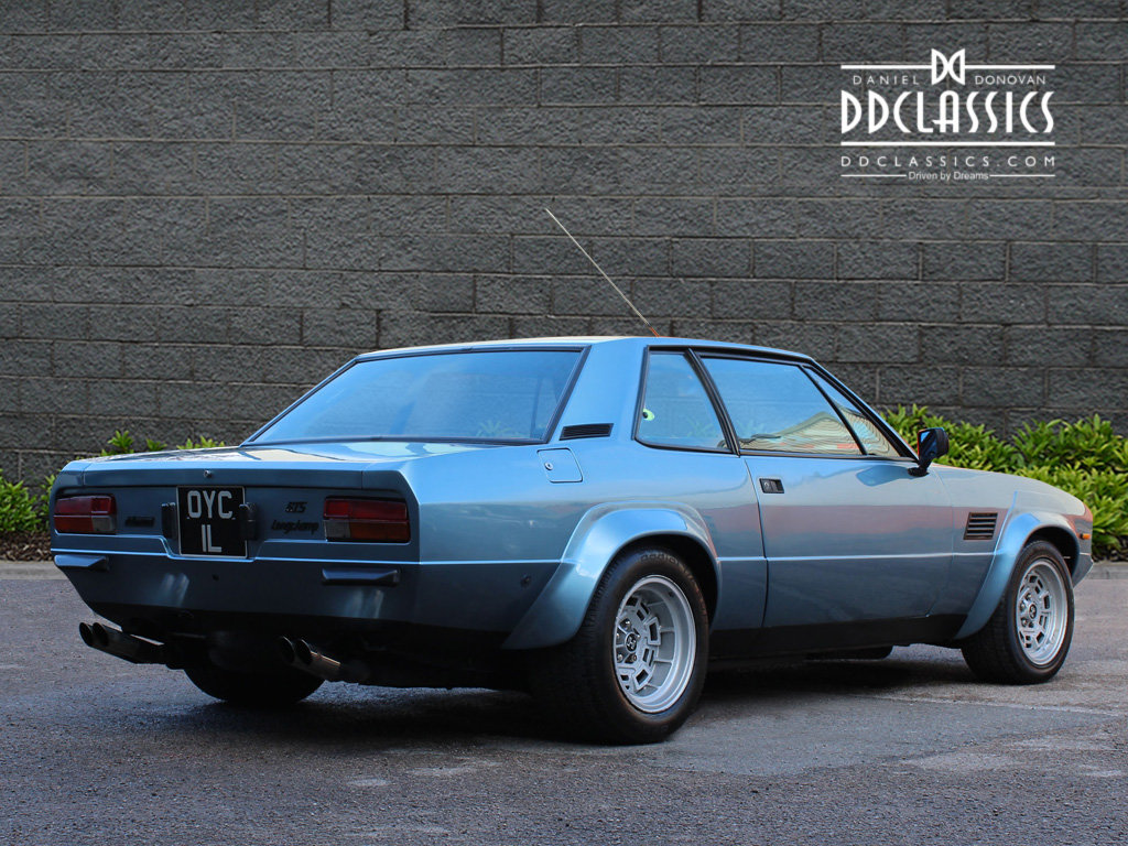 1974 De Tomaso Longchamp GTS Coupe For Sale in London (LHD) For Sale (picture 2 of 6)