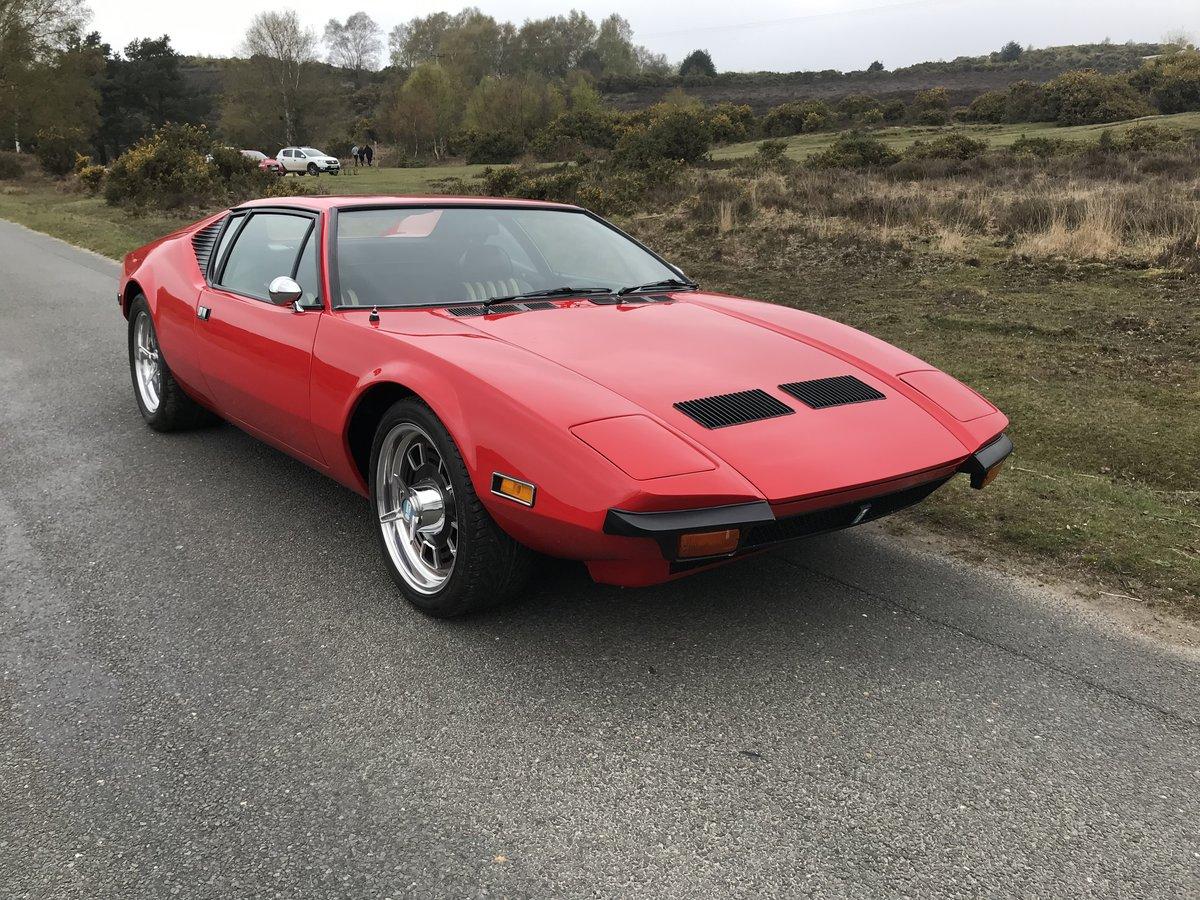 DETomaso Pantera 1972 5.7 Original Cleveland V8 For Sale (picture 1 of 6)