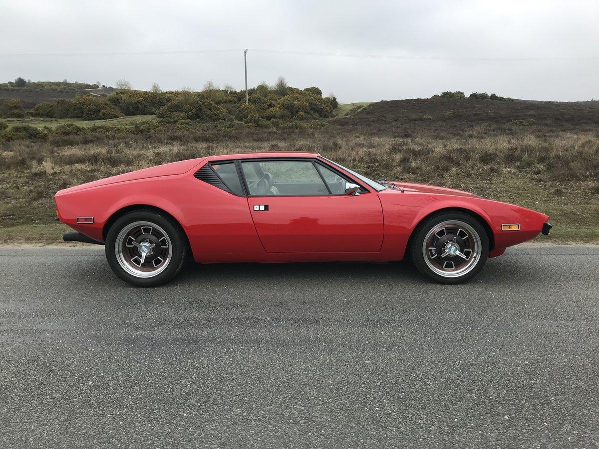 DETomaso Pantera 1972 5.7 Original Cleveland V8 For Sale (picture 3 of 6)