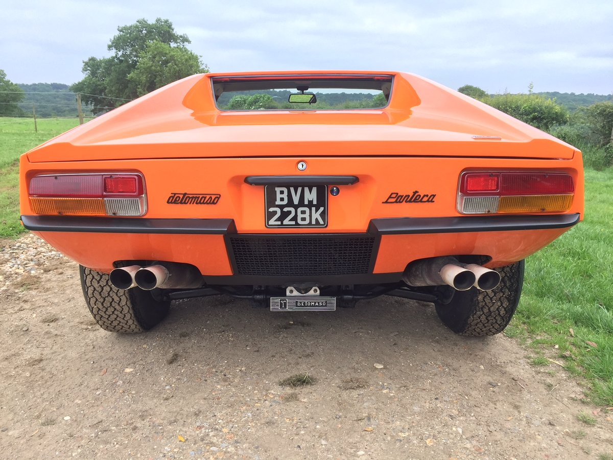 1972 Pre L narrow body Pantera LHD For Sale (picture 2 of 6)