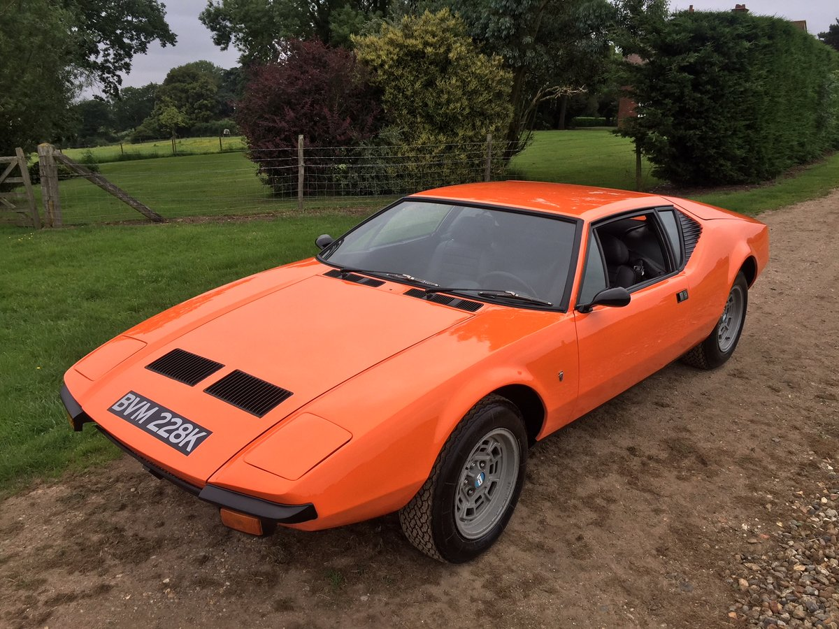 1972 Pre L narrow body Pantera LHD For Sale (picture 4 of 6)