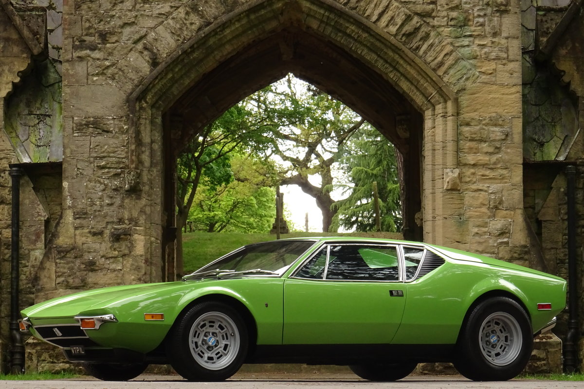 De Tomaso Pantera V8 1972 For Sale (picture 3 of 6)