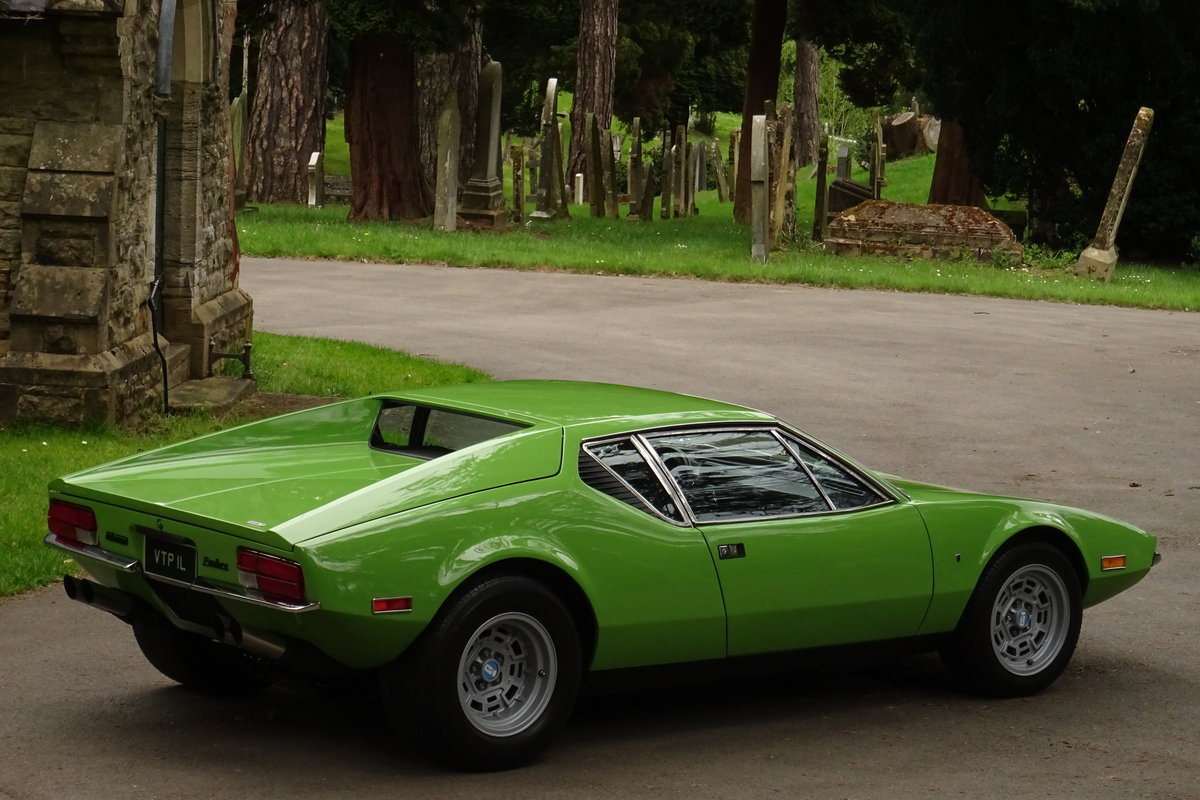 De Tomaso Pantera V8 1972 For Sale (picture 4 of 6)