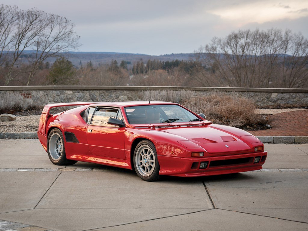 1990 DeTomaso Pantera 90 Si For Sale by Auction (picture 1 of 6)