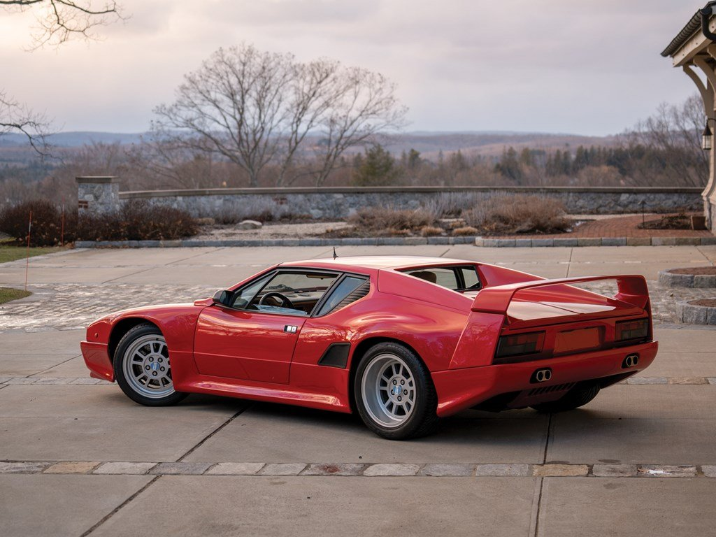 1990 DeTomaso Pantera 90 Si For Sale by Auction (picture 2 of 6)