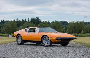 1973 DeTomaso Pantera L = Rare Orange $25k spent $129. For Sale