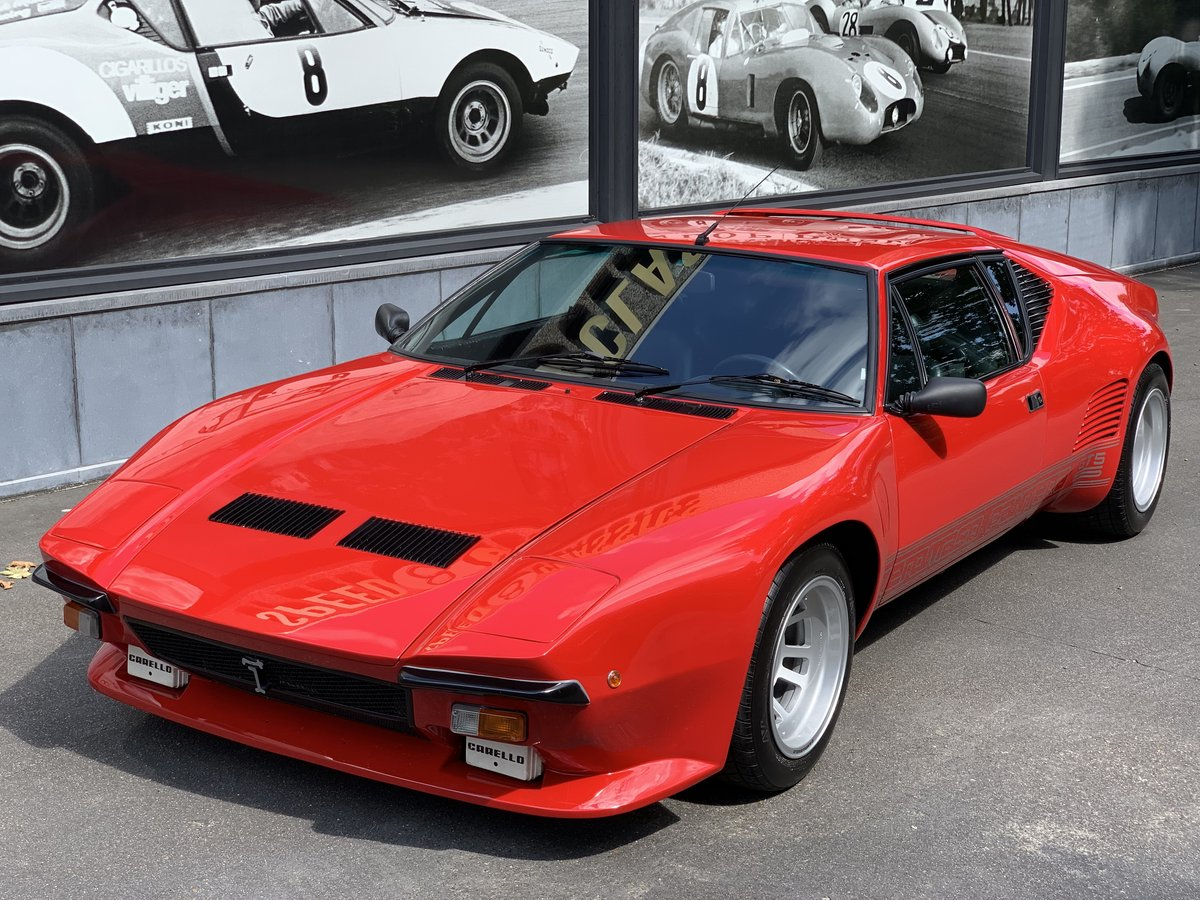 1988 De Tomaso Pantera GT5-S For Sale (picture 1 of 6)