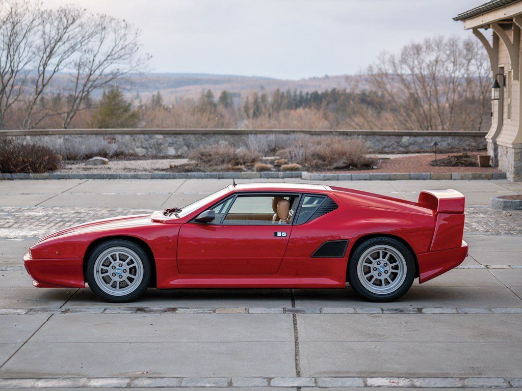 1990 DeTomaso Pantera Si  For Sale by Auction (picture 4 of 6)