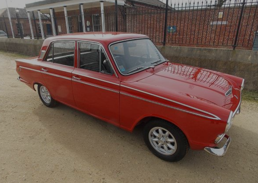 1963 De Tomaso 1600 Cortina 105 Gt For Sale (picture 1 of 6)