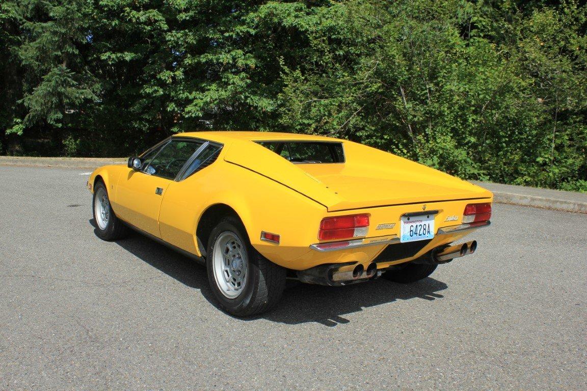 1971 DeTomaso Pantera For Sale (picture 2 of 6)