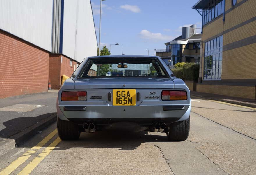 1974 De Tomaso Longchamp GTS Coupe For Sale in London (LHD) For Sale (picture 8 of 15)