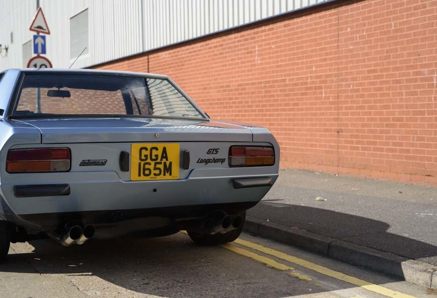 1974 De Tomaso Longchamp GTS Coupe For Sale in London (LHD) For Sale (picture 9 of 15)