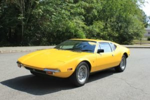1971 DeTomaso Pantera 351C + 5 Speed Yellow New AC $85k For Sale