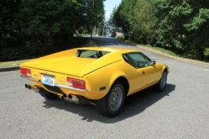1971 DeTomaso Pantera 351C + 5 Speed Yellow New AC $85k For Sale (picture 2 of 6)