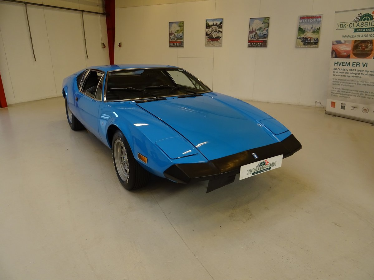 1974 DeTomaso Pantera Lusso, 2-owners from new For Sale (picture 1 of 6)