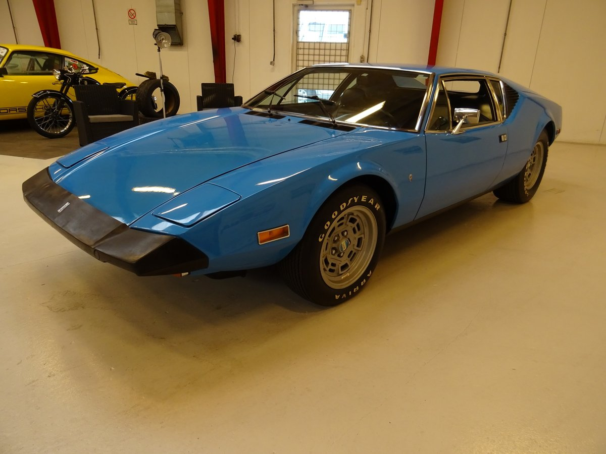 1974 DeTomaso Pantera Lusso, 2-owners from new For Sale (picture 2 of 6)