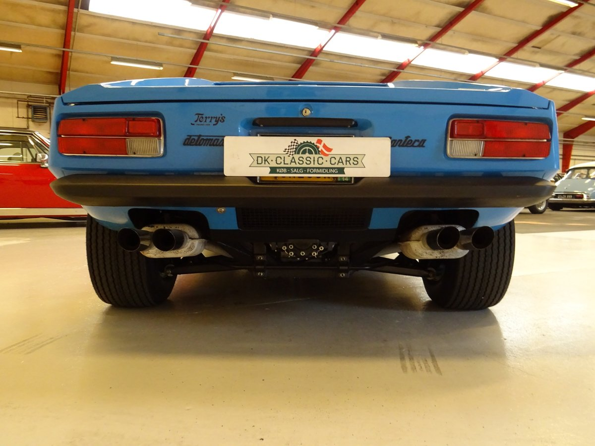 1974 DeTomaso Pantera Lusso, 2-owners from new For Sale (picture 3 of 6)