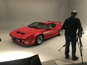 1990 STUNNING UK RHD DETOMASO PANTERA GT5 1 OF 1