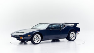 1973 DETOMASO PANTERA for sale by auction. For Sale by Auction