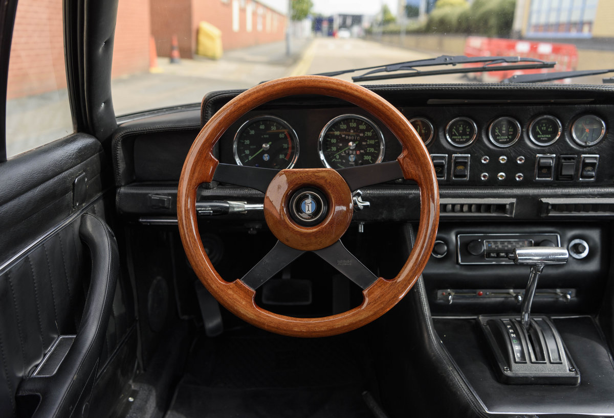 1974 De Tomaso Longchamp GTS Coupe For Sale in London (LHD) For Sale (picture 14 of 23)