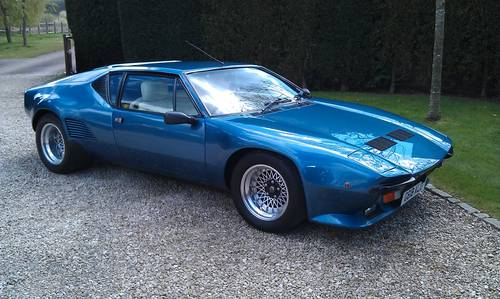 Ford Pantera For Sale >> 1989 Outstanding De Tomaso Pantera Gt5s Price Reduced Sold