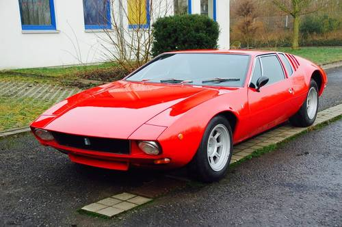 1970 De Tomaso Mangusta unrestored 7000 Miles perfect For Sale (picture 5 of 6)
